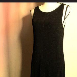 CAROLE LITTLE Little Black Maxi Sparkle Dress